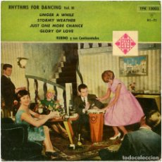 Discos de vinilo: RUBINO Y SUS CONTINENTALES – RHYTHMS FOR DANCING VOL. III - EP SPAIN 1961 - TELEFUNKEN TFK 130. Lote 122532267