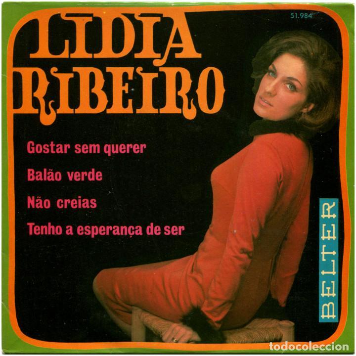 LIDIA RIBEIRO - GOSTAR SEM QUERER - EP SPAIN 1970 - BELTER 51-984 (Música - Discos de Vinilo - EPs - Cantautores Extranjeros)