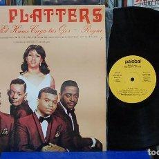 Discos de vinilo: THE PLATTERS. EDITA PALOBAL 1981, REF. LP-CDN-41. LP. Lote 122536299