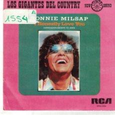 Discos de vinilo: RONNIE MILSAP - I HONESTLY LOVE YOU / A LEGEND IN MY TIME (SINGLE PROMO ESPAÑOL, RCA 1975). Lote 122538855