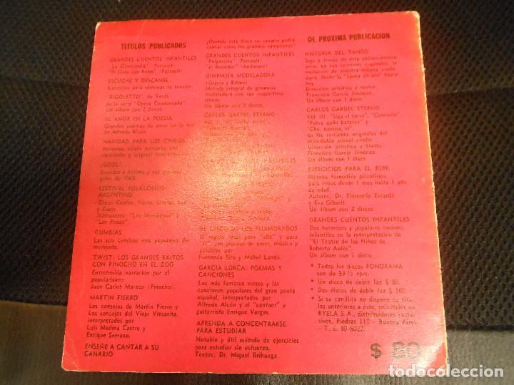 Discos de vinilo: EP GARCIA LORCA POEMAS Y CANCIONES ALFREDO ALCON Y ENRIQUE VARGAS FLAMENCO DISCOS FLEXI ARGENTINA - Foto 4 - 122542067