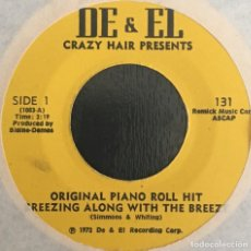 Vinyl records - Crazy Hair And His Player Piano Gang – Breezing Along With The Freeze - 122543927
