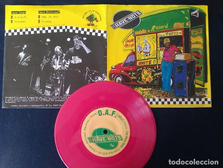 LES HAVE-NOTS: EZLN/SUICIDE/RAS LE BOL/R. SONG SKA-SKACORE-REGGAE-MOD-SKIN (Música - Discos de Vinilo - EPs - Reggae - Ska)