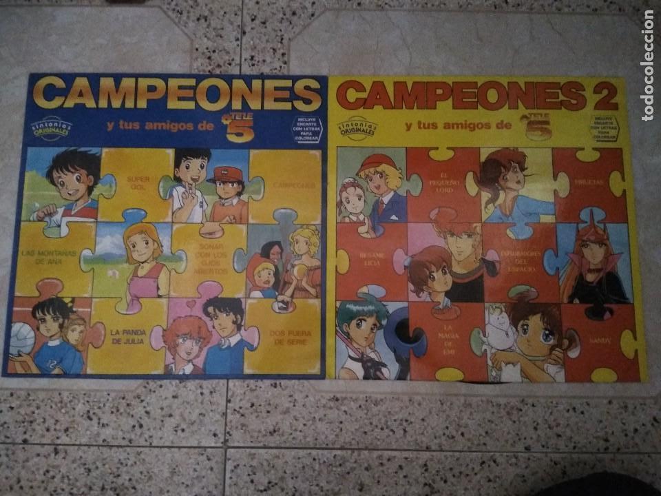 DISCO VINILO CAMPEONES (Música - Discos - Singles Vinilo - Música Infantil)