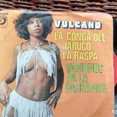Discos de vinilo: SINGLE (VINILO) DE VULCANO AÑOS 70. Lote 122561091
