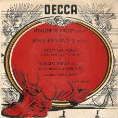 Discos de vinilo: VENDO SINGLE DE MUSICA CLASICA, NUEVA ORQUESTA PROMENADE, AÑO 1965 (MAS INFORMACÍON EN INTERIOR).. Lote 122562123