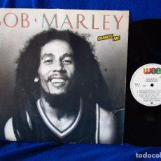 Discos de vinilo: BOB MARLEY - CHANCES ARE - LP 1984. Lote 122564547