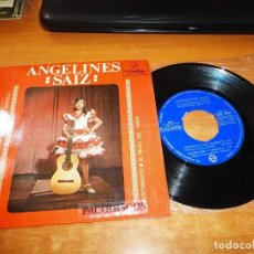 Discos de vinilo: ANGELINES SAIZ ADONDE VA ESA BARQUITA EP VINILO DEL AÑO 1966 COLUMBIA CONTIENE 4 TEMAS. Lote 122585079