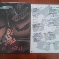Discos de vinilo: MORTAL SIN--FACE OF DESPAIR.1989.. Lote 122588468