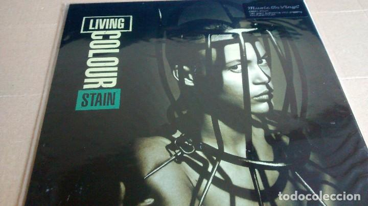 (SIN ABRIR) LIVING COLOUR - STAIN - VINILO 180 GRAMOS (Música - Discos - LP Vinilo - Heavy - Metal)