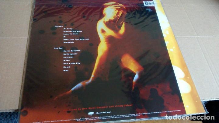 Discos de vinilo: (SIN ABRIR) LIVING COLOUR - STAIN - VINILO 180 GRAMOS - Foto 3 - 122588927