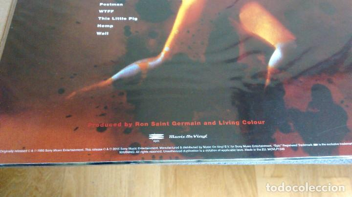 Discos de vinilo: (SIN ABRIR) LIVING COLOUR - STAIN - VINILO 180 GRAMOS - Foto 4 - 122588927