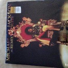 Discos de vinilo: MICHAEL JACKSON THE REMIX SUITE VINILO ÁLBUM NUEVO. Lote 122593471