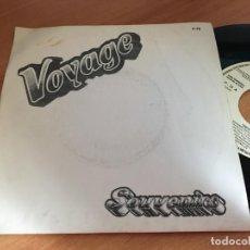 Discos de vinilo: VOYAGE (SOUVENIRS) SINGLE ESPAÑA 1979 PROMO (EPI11). Lote 122600563