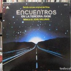 Discos de vinilo: JOHN WILLIAMS - BANDA SONORA ORIGINAL DE FILME, ENCUENTROS EN LA TERCERA FASE LP. Lote 122621547