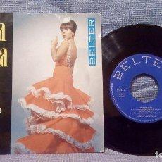 Discos de vinilo: ROSA MORENA - NATURALEZA / UNA FARRUCA / ECHALE PICANTE / NI TU, NI TU - EP BELTER 51.277 AÑO 1967. Lote 122628867