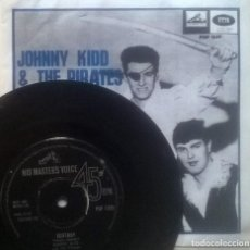 Discos de vinilo: JOHNNY KIDD AND THE / HUNGRY FOR LOVE. HIS MASTER'S VOICE UK 1963 SINGLE+ COPIA CUB. Lote 122638783