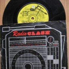 Discos de vinilo: THE CLASH: RADIO CLASH / SEX PISTOLS, SHAM 69, THE JAM, THE DAMMNED, RANCID, IGGY POP.... Lote 122644095