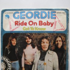 Discos de vinilo: GEORDIE: RIDE ON BABY / AC/DC, ROSE TATTOO, ROLLING STONES, FREE, THE WHO.... Lote 122644403