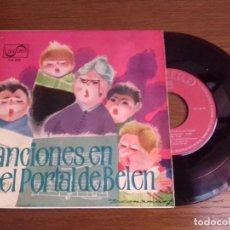 Discos de vinilo: SINGLE - RONDALLA Y COROS DEL COLEGIO CALASANCIO DE MADRID - CANCIONES EN EL PORTAL DE BELÉN. Lote 122652059