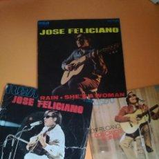Discos de vinilo: JOSÉ FELICIANO LOTE. Lote 122652259
