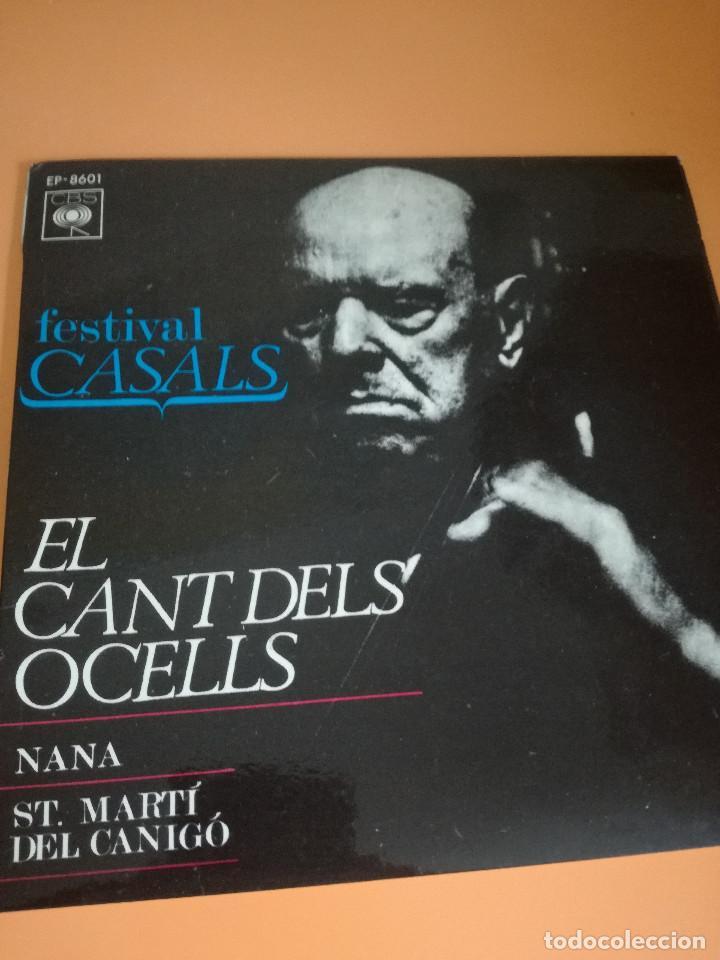 PAU CASALS EL CANT DELS OCELLS (Música - Discos - Singles Vinilo - Orquestas)