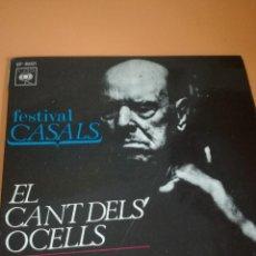 Discos de vinilo: PAU CASALS EL CANT DELS OCELLS. Lote 122652779
