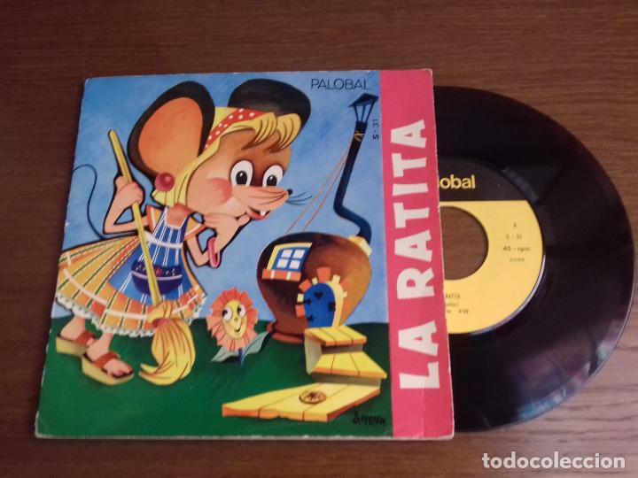 SINGLE - CUENTO DE LA RATITA - AÑO 1966 - EDICIÓN ESPAÑOLA (Música - Discos - Singles Vinilo - Música Infantil)