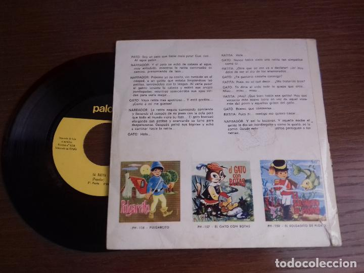 Discos de vinilo: Single - Cuento De La Ratita - Año 1966 - Edición Española - Foto 2 - 122654727