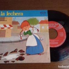 Discos de vinilo: SINGLE - CUENTO DE LA LECHERA - AÑO 1971 - EDICIÓN ESPAÑOLA. Lote 122655467