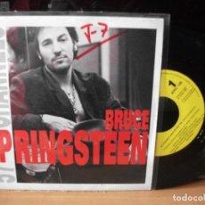 Discos de vinilo: BRUCE SPRINGSTEEN 57 CHANNELS SINGLE SPAIN 1992 PDELUXE. Lote 122659999