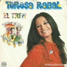 Discos de vinilo: TERESA RABAL. SINGLE PROMOCIONAL. SELLO MOVIEPLAY. EDITADO EN ESPAÑA. AÑO 1981. Lote 122660615
