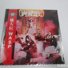 Discos de vinilo: LP VINILO JAPONÉS DE WASP - WASP - FIRST ALBUM. Lote 122672863