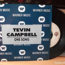 Discos de vinilo: TEVIN CAMPBELL ONE SONG SINGLE SPAIN 1992 PDELUXE. Lote 122678067
