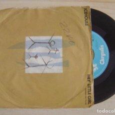 Discos de vinilo: ICEHOUSE - HEY' LITTLE GIRL + LOVE IN MOTION - SINGLE ALEMAN 1982 - CHRYSALIS. Lote 122680923