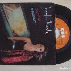 Discos de vinilo: JENNIFER RUSH - 25 LOVERS + SURRENDER - SINGLE ALEMAN 1984 - CBS. Lote 122681123