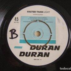 Discos de vinilo: DURAN DURAN - GIRLS ON FILM + FASTER THAN LIGHT - SINGLE INGLES 1981. Lote 122684587