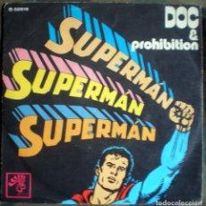 Vinyl records - Doc & Prohibition – Supermán Supermán Supermán Spain 1972 Jazz-Funk - 122686411