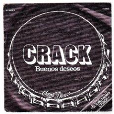 Discos de vinilo: CRACK-BUENOS DESEOS (CHAPA 1979). Lote 122687015