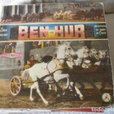 Discos de vinilo: BEN-HUR, UNA HISTORIA DEL TIEMPO DE CRISTO, CON LIBRETO, . Lote 122693535