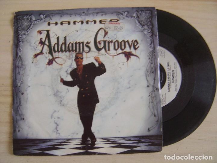 HAMMER - ADDAMS GROOVE + STREET SOLDIERS - SINGLE UK 1991 - CAPITOL (Música - Discos - Singles Vinilo - Rap / Hip Hop)