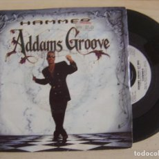 Dischi in vinile: HAMMER - ADDAMS GROOVE + STREET SOLDIERS - SINGLE UK 1991 - CAPITOL. Lote 122697103