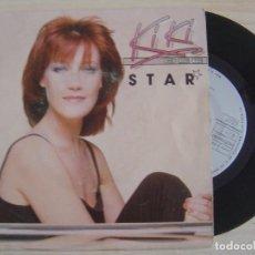 Discos de vinilo: KIKI DEE - STAR + GIVE IT UP - SINGLE HOLANDES 1981 - ARIOLA. Lote 122697547