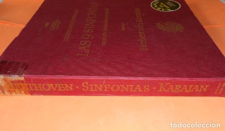 Discos de vinilo: BEETHOVEN - LAS 9 SINFONÍAS EN 8 DISCOS - EDICION DEUSTCHE GRAMOFON 1966. - HERBERT VON KARAJAN - Foto 2 - 122705339
