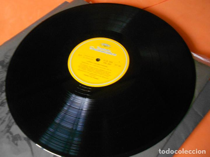 Discos de vinilo: BEETHOVEN - LAS 9 SINFONÍAS EN 8 DISCOS - EDICION DEUSTCHE GRAMOFON 1966. - HERBERT VON KARAJAN - Foto 7 - 122705339