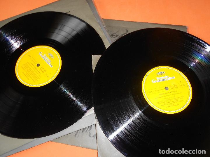 Discos de vinilo: BEETHOVEN - LAS 9 SINFONÍAS EN 8 DISCOS - EDICION DEUSTCHE GRAMOFON 1966. - HERBERT VON KARAJAN - Foto 8 - 122705339