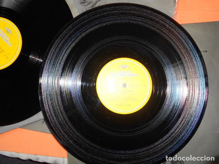 Discos de vinilo: BEETHOVEN - LAS 9 SINFONÍAS EN 8 DISCOS - EDICION DEUSTCHE GRAMOFON 1966. - HERBERT VON KARAJAN - Foto 9 - 122705339