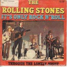 Discos de vinilo: THE ROLLING STONES - IT'S ONLY ROCK N' ROLL - SINGLE ESPAÑOL DE VINILO . Lote 122710695