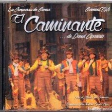 Discos de vinilo: CARNAVAL DE CADIZ, 2014.CD COMPARSA DE CAMAS. EL CAMINANTE. RARO. PRECINTADO. Lote 170957217