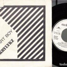 Discos de vinilo: THE AKRYLYKZ - SMART BOY / SPYDERMAN - SINGLE ESPAÑOL DE VINILO SKA - SOLO PROMOCIONAL. Lote 122714111